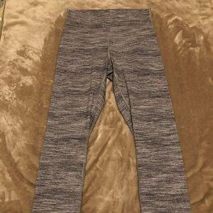 Lululemon High Times 7/8 Grey size 6